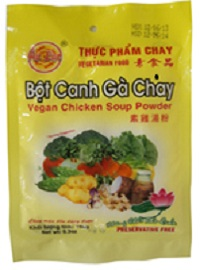 bỘt canh gÀ 150g BỘT CANH GÀ 150G bot canh ga 150g 2 thực phẩm chay CHAY LẠC VIỆT bot canh ga 150g 2