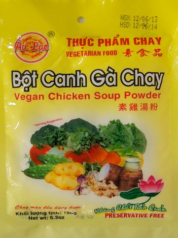 bỘt canh gÀ 150g BỘT CANH GÀ 150G bot canh ga 150g1 thực phẩm chay CHAY LẠC VIỆT bot canh ga 150g1