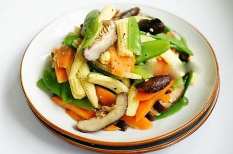thực phẩm chay CHAY LẠC VIỆT cachlammonanchayturaucuqua